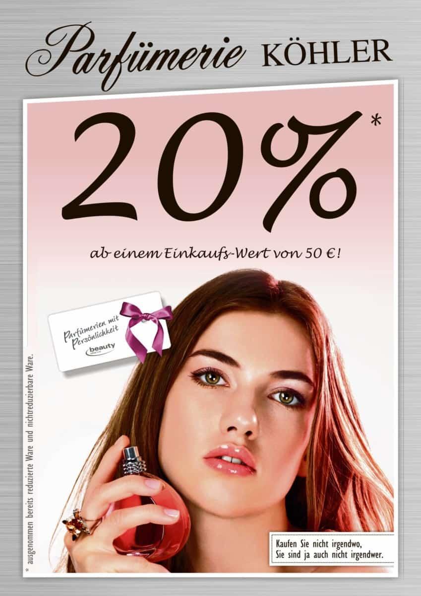 Rathauspassage Eberswalde Aktion20prozent-parfumerie-koehler Parfümerie Köhler Geschäfte