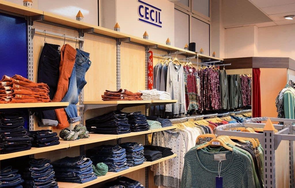 Rathauspassage Eberswalde City-Fashion_CECIL_01 City Kaufhaus Geschäfte