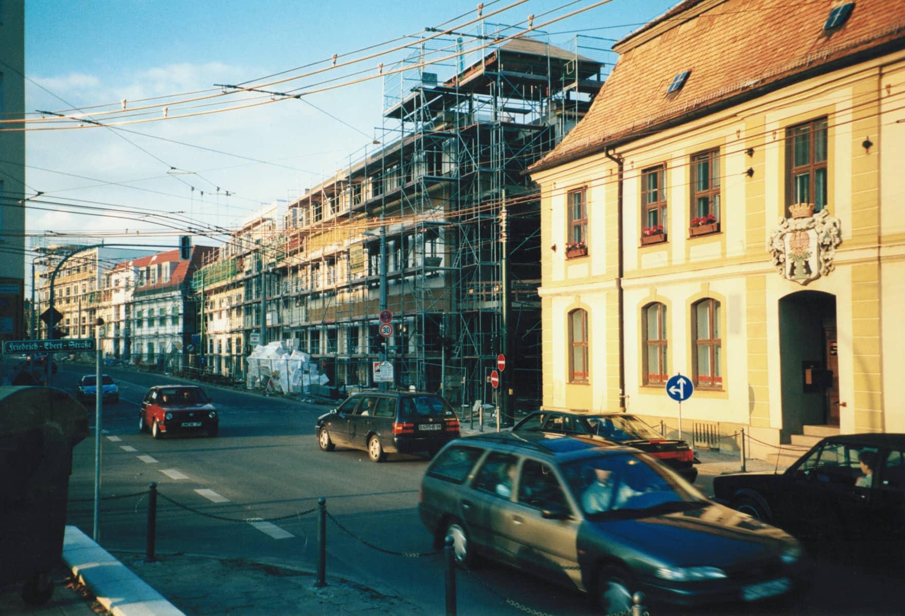rathauspassage bauarbeiten 1996