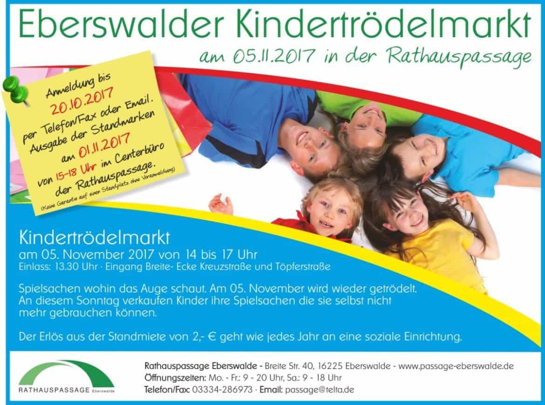 Rathauspassage Eberswalde Rathauspassage_Kindertrödelmarkt_November_2017-1170x869 Kindertrödelmarkt am 05.11.2017 Angebote & Aktionen Veranstaltungen