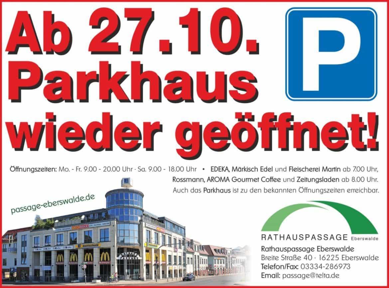 Rathauspassage Eberswalde RHP_Parkhaus-wiedereröffnung-1170x867 Parkhaus Rathauspassage Aktuelles