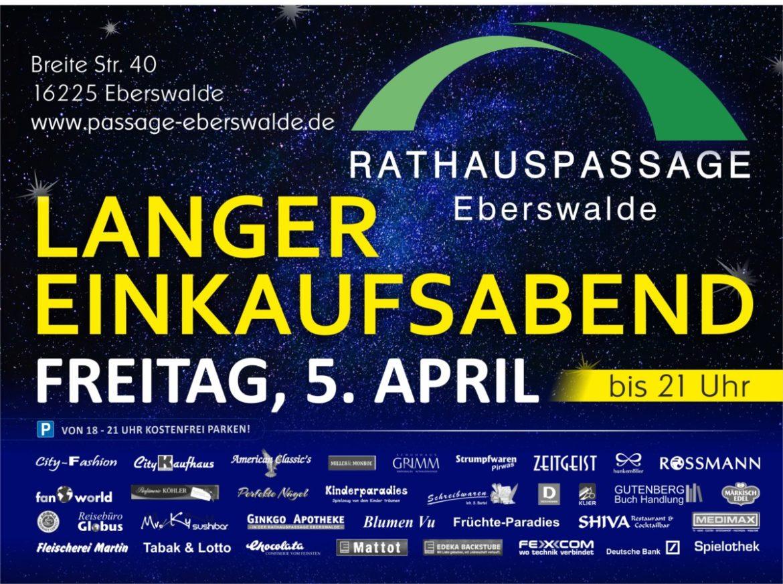 Rathauspassage Eberswalde 50176_03_04_2019_Langer_Einkaufsabend-2-1170x873 Langer Einkaufsabend am 05.04.2019 Aktuelles Angebote & Aktionen Veranstaltungen
