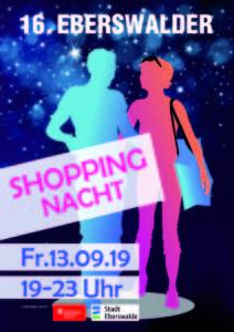 Rathauspassage Eberswalde Plakat-A3-Druck-212x300 Lange Einkaufsnacht am 13.09.2019 in Eberswalde Veranstaltungen