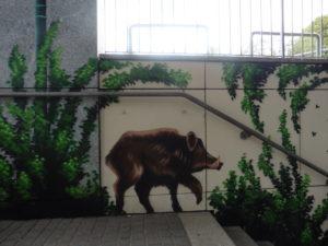 Rathauspassage Eberswalde Wandgestaltung-2019-003-300x225 Fantastische Wandgestaltung fertiggestellt Aktuelles