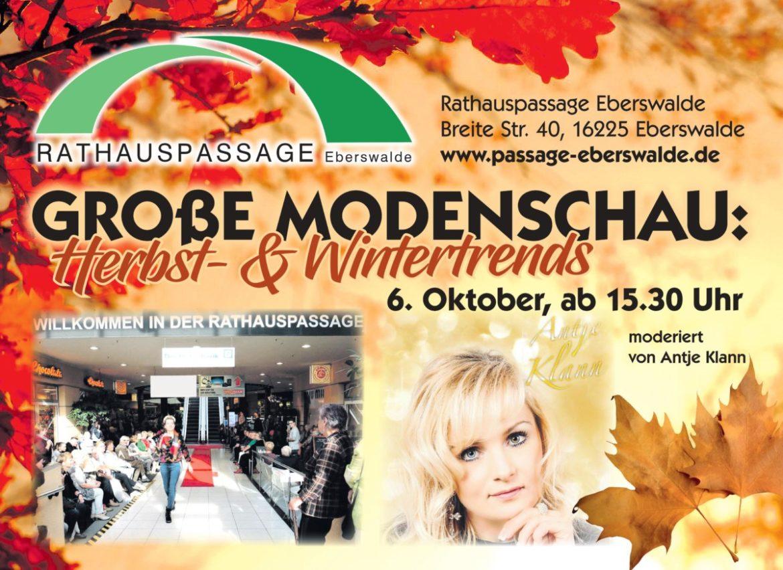 Rathauspassage Eberswalde 0001-1-1170x852 Modenschau am verkaufsoffenen Sonntag 06.10.2019 Aktuelles Veranstaltungen