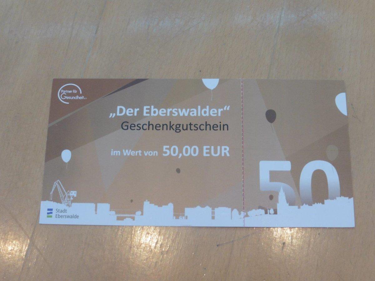 Eberswalder Gutschein Rathauspassage
